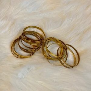 Gold Costume Jewelry Bangles